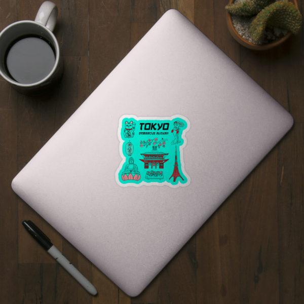 Tokyo Life Sticker