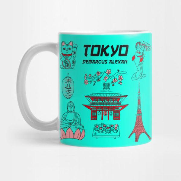 Tokyo Life Mug