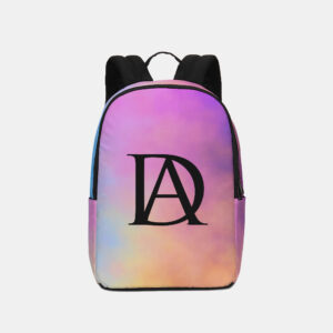 DeMarcus Alexan Nebula Logo Backpack