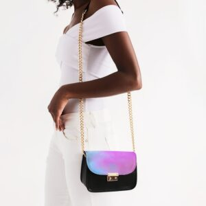 DeMarcus Alexan Pastel Cloud Shoulder Bag